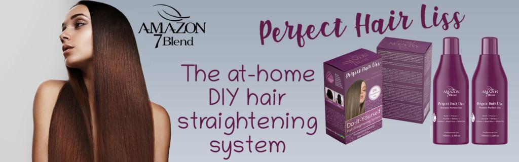 Amazon 7 Blend Perfect Hair DIY Hair Straightening Kit